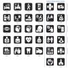 Universal hospital symbols for designers