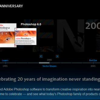 20 years of Photoshop