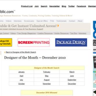 Designer of the month!