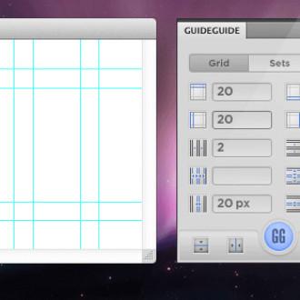 GuideGuide – Photoshop grid master plugin