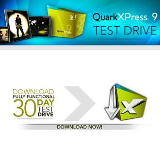 30-day QuarkXPress 9 Test Drive